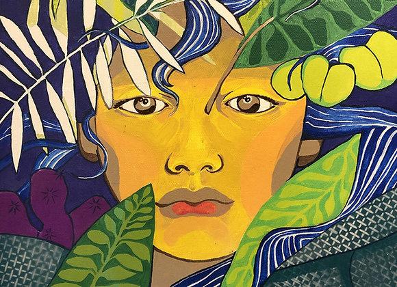 "Acrylic Painting ""Human Nature"""