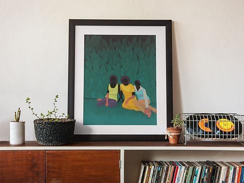 aunties-mommies-art-print-in-room.jpg