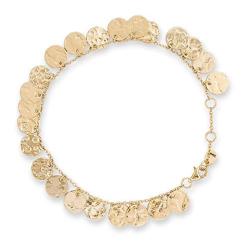Gold Multi Jingle Bracelet - BIANC