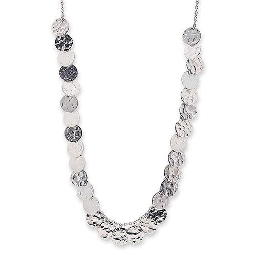Silver Multi Jingle Necklace - BIANC