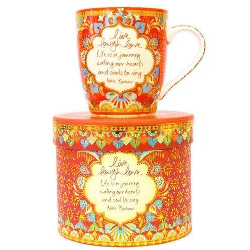 Live, Laugh, Love Gift Boxed Mug