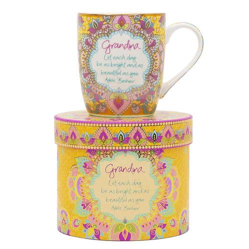 Grandma Gift Boxed Mug