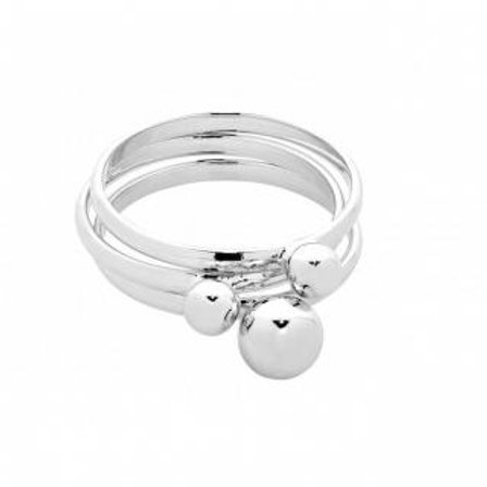 Tommy Silver Ring (large) - Liberte