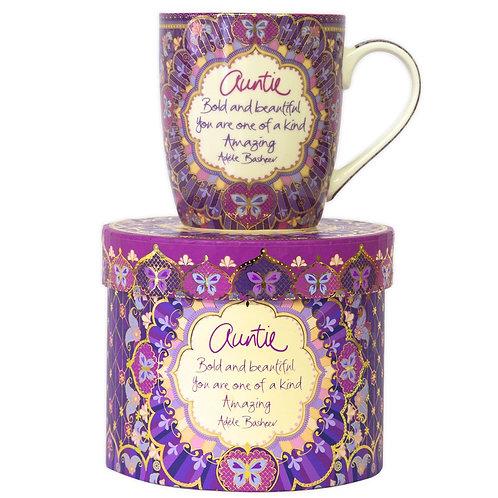 Auntie Gift Boxed Mug