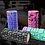 Thumbnail: Foam Roller, blue multi, 33 cm W x 14 cm D