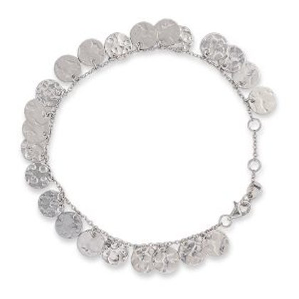Silver Multi Jingle Bracelet - BIANC