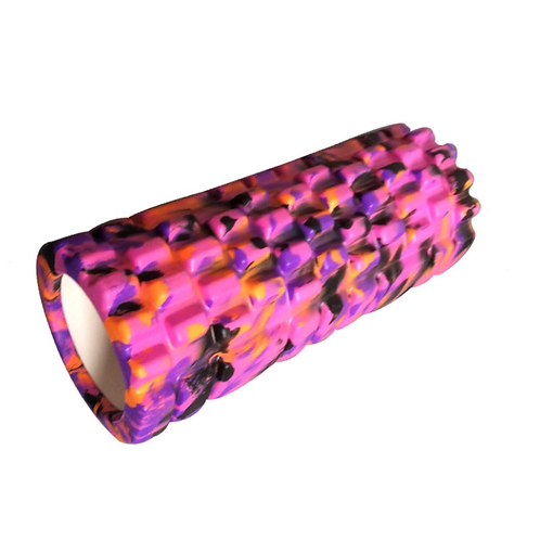 Foam Roller, purple multi, 33 cm W x 14 cm D