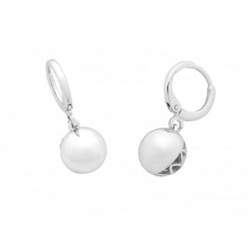 Olive  Silver Earring - Liberte