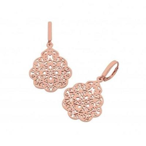 Nel Rose Gold Earring - Liberte