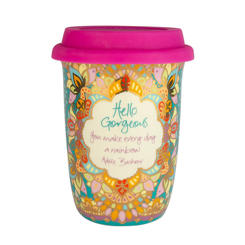 Hello Gorgeous Travel Cup