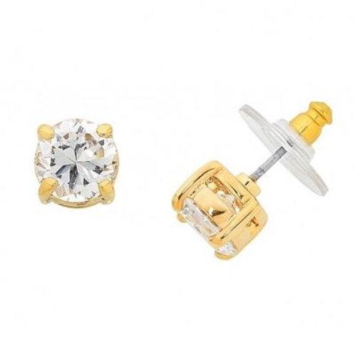 Ballet Gold Stud Earring - Liberte