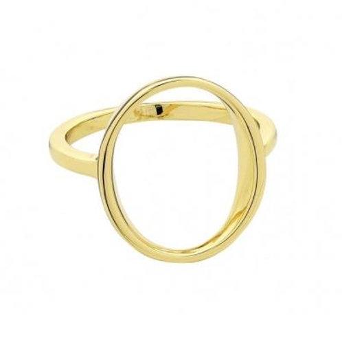 Matilda Gold Ring (large) - Liberte