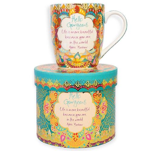 Hello Gorgeous Gift Boxed Mug