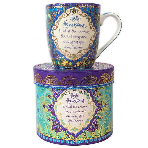 Hello Handsome Gift Boxed Mug
