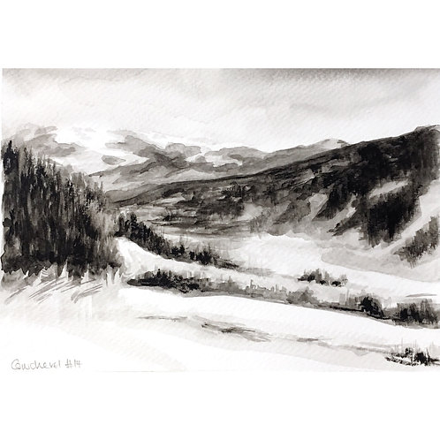 Courchevel #14 (15cm x 20cm)