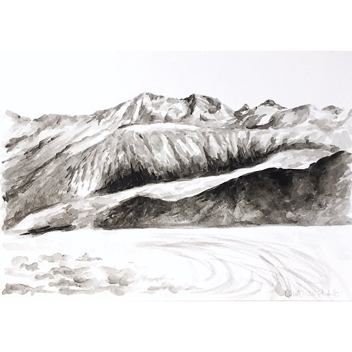 Courchevel #16 (15cm x 20cm)