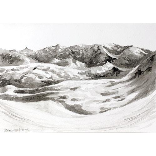 Courchevel #28 (15cm x 20cm)