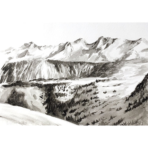 Courchevel #18 (15cm x 20cm)