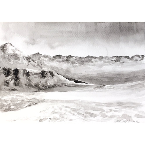 Courchevel #12 (15cm x 20cm)