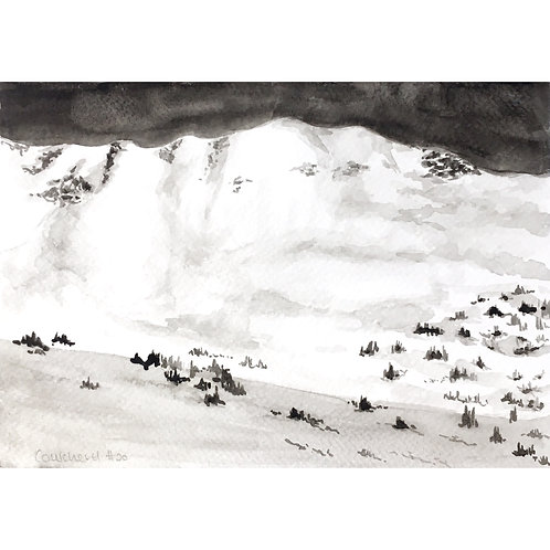 Courchevel #20 (15cm x 20cm)