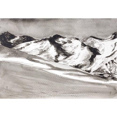 Courchevel #22 (15cm x 20cm)