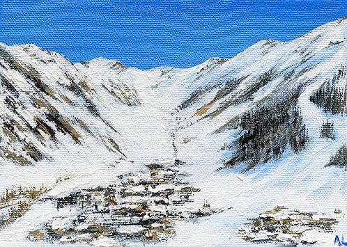 Last Snowfall - Val d'Isere