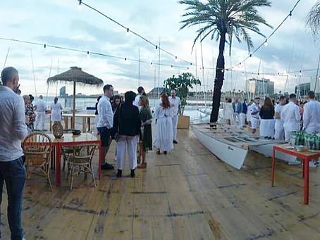 White Summer Dinner Revlon Professional Barcelona 2018