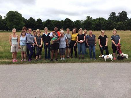 Charity Walk 16 July 2017