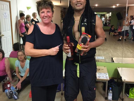 ZUMBA PARTY 12TH JUNE 2015