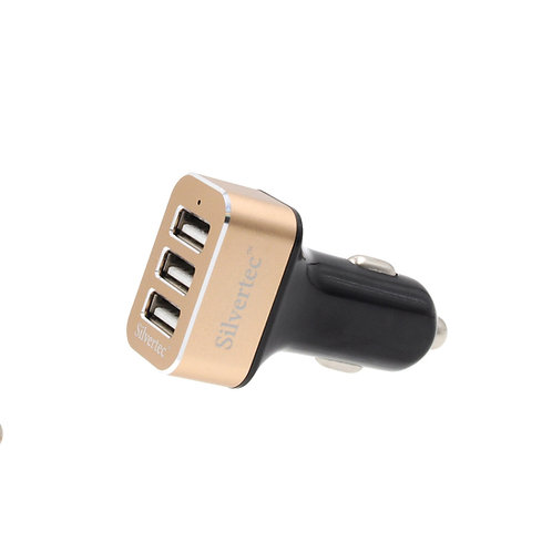 3 Ports 5.2A Output Max Car Charger