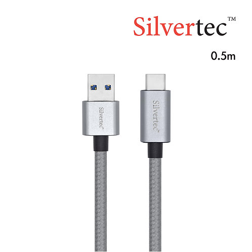 USB3.1 A male to USB-C Cable 0.5m