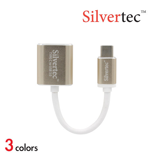Type-C to USB 3.0 Single Port Adapter Gold