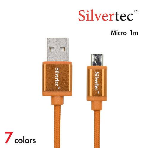 Double Micro Cable 1m Orange