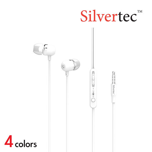 S3 Ear-Canal Heavy Bass Earphone White