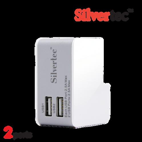 G1602 兩埠 USB旅行充電器 (附4款插頭轉換)