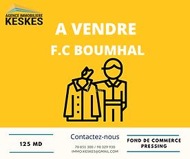 Fond de commerce Boumhal