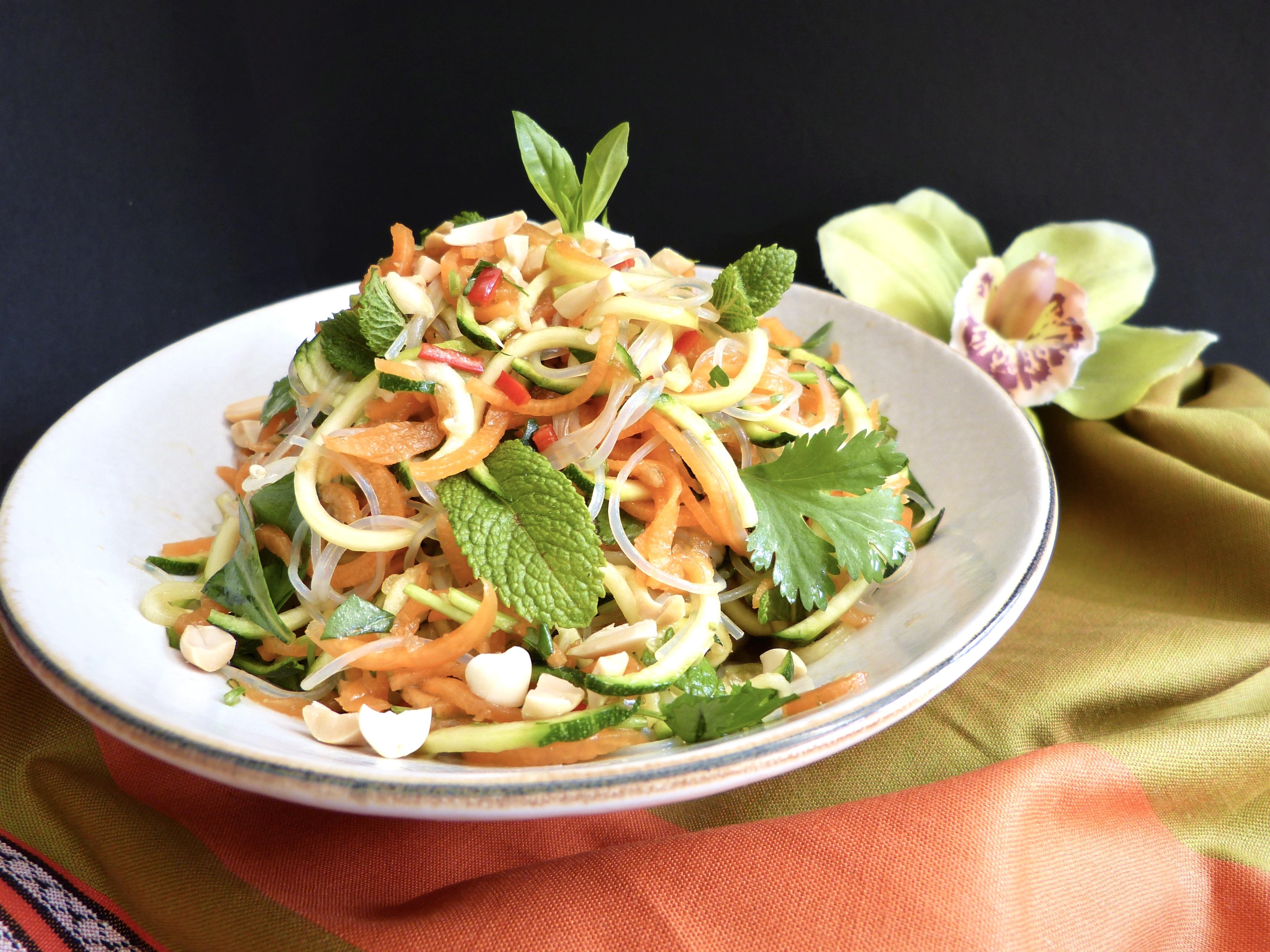 Pad Thai Noodle Salad Bowl