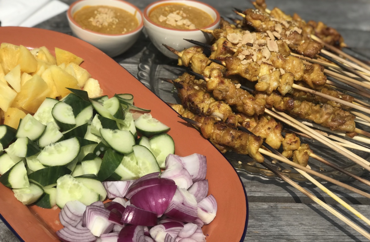 Malaysia chicken satay