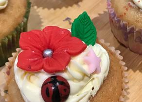 Little Bakers - Ladybird & Daisy Cupcake Masterclass