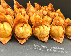 Dim sum- Chinese five spice wontons
