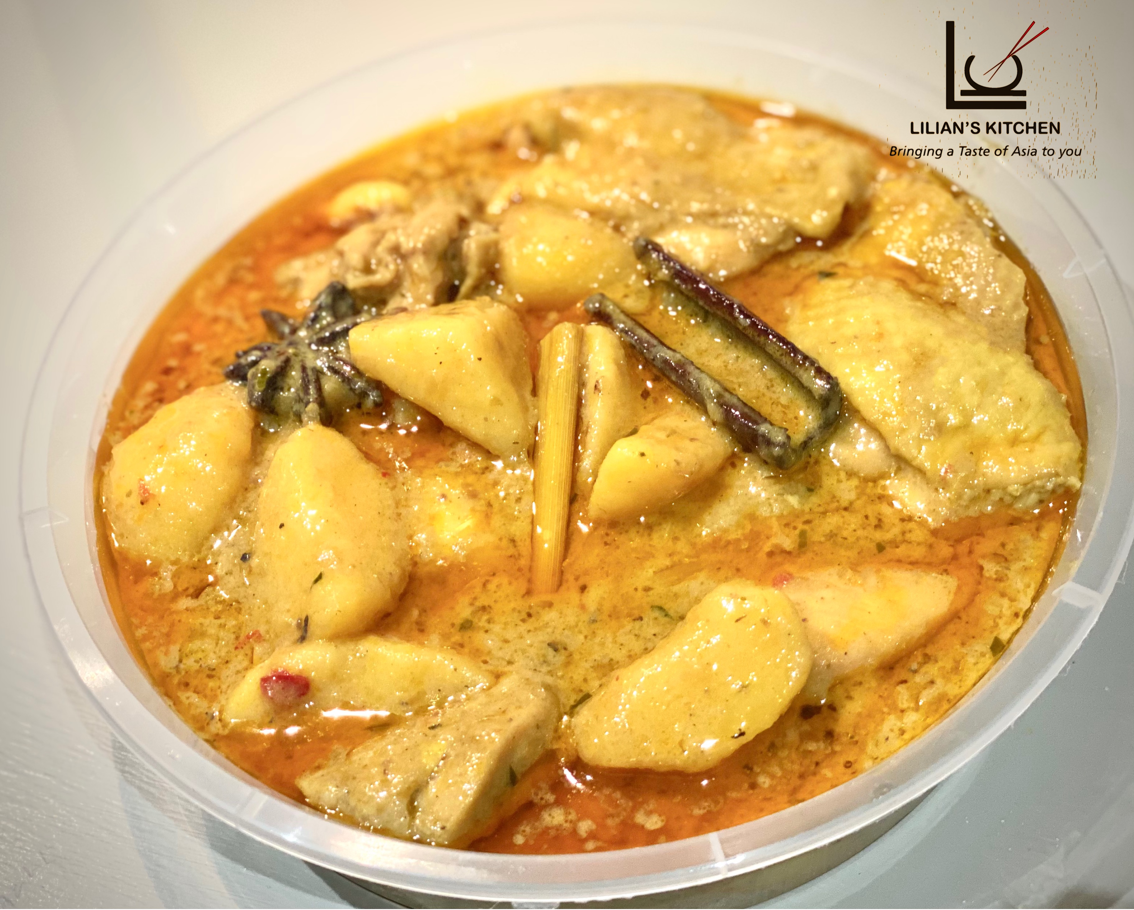 Peranakan curry