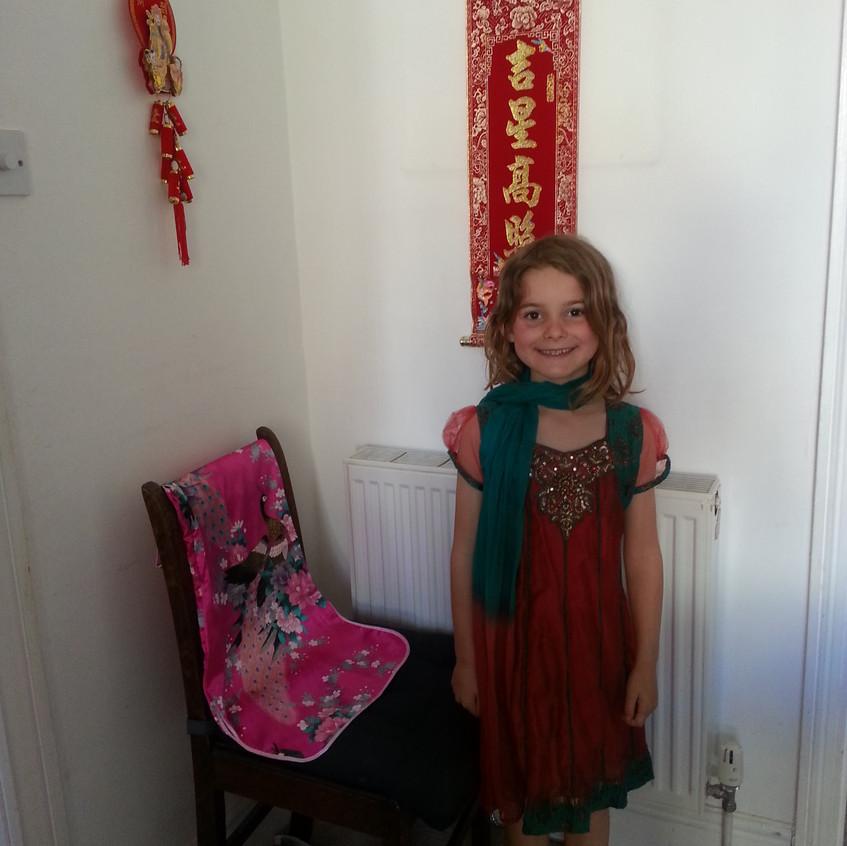 Do you like my dress Lilian_