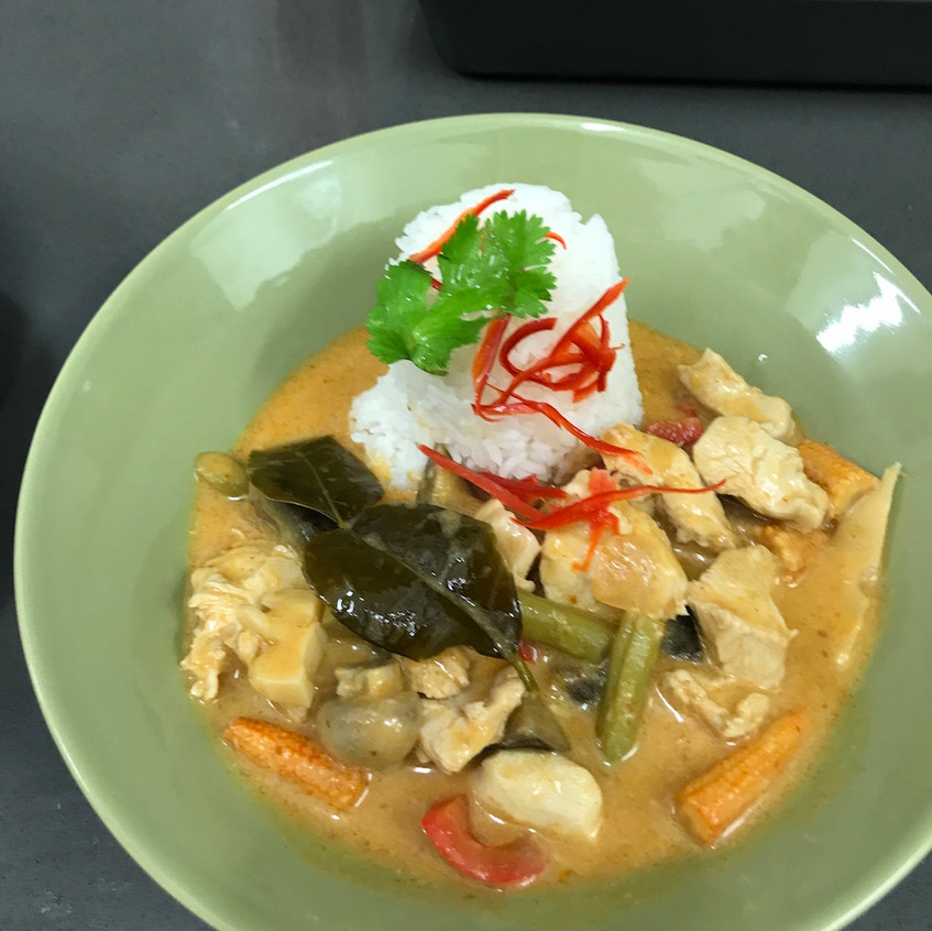 Tom Yum Curry - the guests loved it!