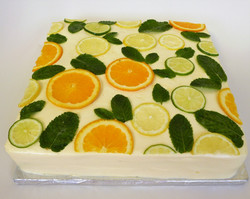 Citrus Fruits Cake