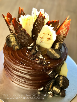 Triple Chocolate Shards Chocolate Cake