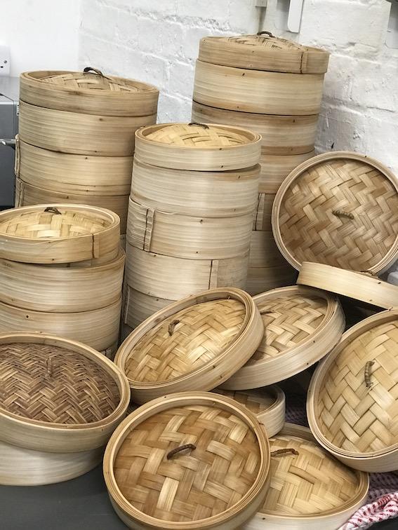 Lots of steaming - Prawn _ Pork Siew Mai