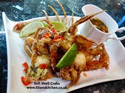 Soft shell crab Thai style