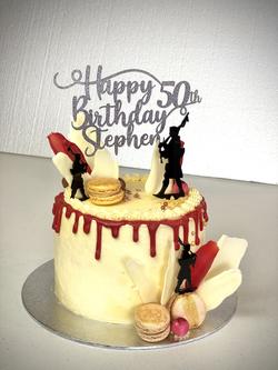 Scottish Pipper Cake