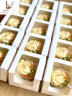 Corporate or wedding cupcake gift boxes.
