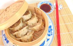Dim sum- steamed beef dumplings
